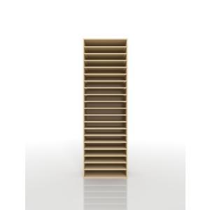 書類収納 A3 図面棚 木製 トレーキャビネット|margherita