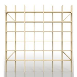 本棚 おしゃれ 大容量 壁面書棚 壁一面本棚 天井まで|margherita