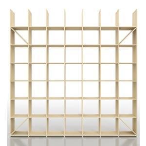 本棚 壁面収納 壁一面 大容量本棚 おしゃれ 天井まで|margherita