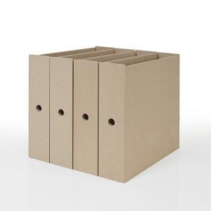 本棚 壁面書棚 壁一面本棚 引き出しファイルボックス 4列(奥行350本棚専用)|margherita