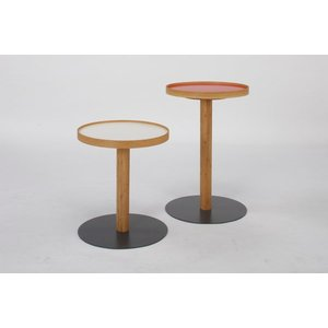 ONE SIDE TABLE (ワン サイド テーブル) 白  LOW|margherita