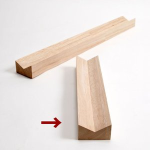 ペントレー 木製 Vブロック/VB-02|margherita
