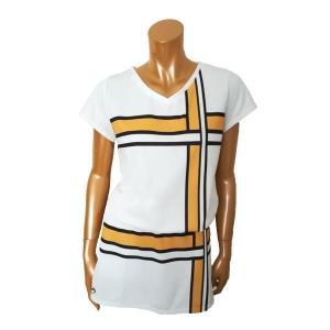 Tシャツをインしてワンピース風にも! Tシャツの着方で雰囲気も変わりますし、上下別々に他のウェアとも...