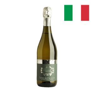 スパークリングワイン 甘口 ランブルスコ・デッレミリア IGT ビアンコ・ドルチェ 2016 イタリア 750ml 自社輸入 カクテル感覚のワイン|mariage
