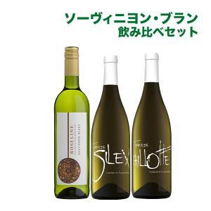 ソーヴィニヨン・ブラン飲み比べ 白ワイン 3本セット 【酒類】