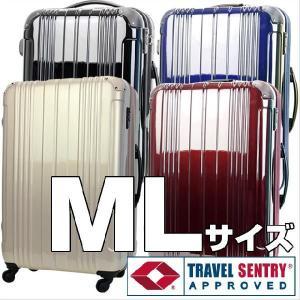 スーツケース アウトレット ML サイズ 中型 軽量 キャリーケース キャリーバッグ 旅行かばん ファスナー レジェンドウォーカー B-5046-66