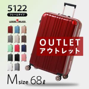 スーツケース 中型 軽量 M サイズ キャリーバッグ キャリ...