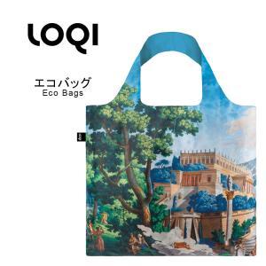 エコバッグ 折り畳み おしゃれ トートバッグ loqi ローキー loqi-bag-b1