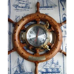 ラット時計 オーク450mm|marine-guide