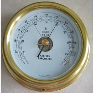 船舶用気圧計DB-150 バロメーター マリン用品|marine-guide