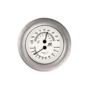 プラスチモ・4インチ温湿度計|marine-guide