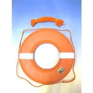 救命浮輪L(P-230K) 小型船舶用 検定品 検査備品|marine-guide