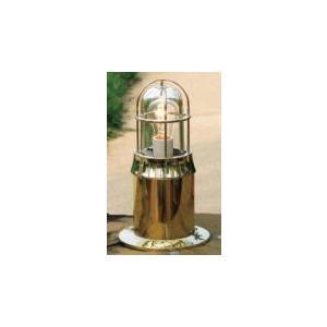 エントランスライト(真鍮クリア仕上げ・クリアガラス仕様)Sサイズ|marine-guide