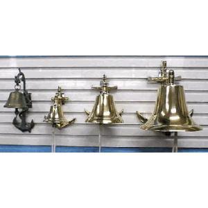 イカリベル(大) 真鍮製 鐘 マリンディスプレイ|marine-guide