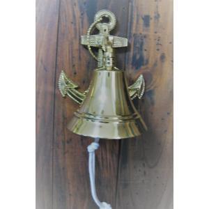 イカリベル(中) 鐘 真鍮 シップベル|marine-guide