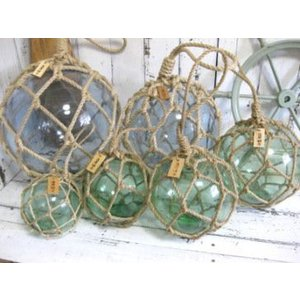 ガラス浮玉NO.10(32cm) 漁業用ブイ 浮き球 marine-guide