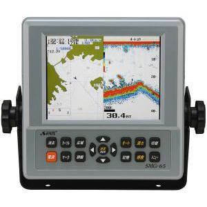 6.5型カラー液晶GPS・魚探「SMG-65S」 marine-guide