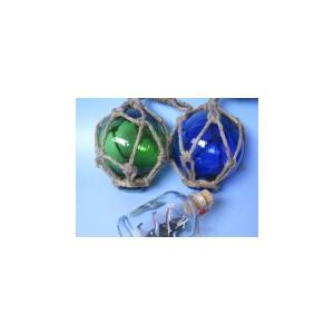 浮き玉3インチ ガラス玉 かわいい マリン雑貨 ビーチアイテム|marine-guide