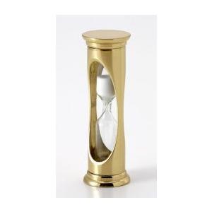 砂時計A ブラス製 3分間時計|marine-guide