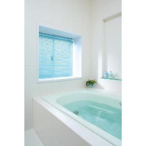 浴室ブラインド オーダー/日本製 【幅101〜120cm×高さ81〜100cm】  の写真