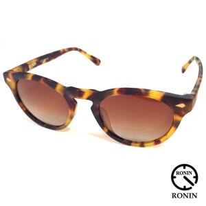 Ronin Eyewear ロニンアイウェアー DKM BEKKOU べっ甲ブラウングラデポーラ|mariner