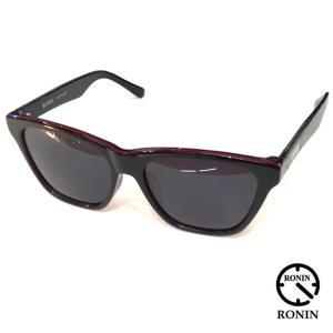 RONIN ロニン サングラス MAX SHINE BLACK x POLAIZED GRAY|mariner