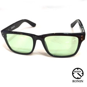 RONIN ロニン サングラス TypeA Shiny Black x Lime Greenレンズカラー|mariner