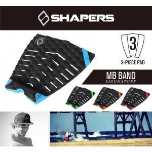 SHAPERS TAIL PAD シェーパーズ テールパッド MB BAND/サーフィン用品 サーフボードデッキパッド サーフィン
