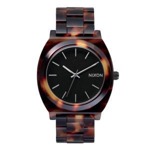 NIXON ニクソン腕時計 THE TIME TELLER ACETATE TORTOISE/GOLD|mariner