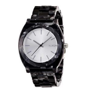 NIXON ニクソン腕時計 THE TIME TELLER ACETATE GRAY GRANITE|mariner