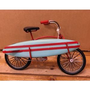 ぶりきのおもちゃグッドオールドSurf Bicycle/ インテリア サーフィン|mariner