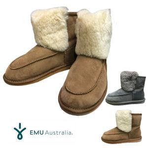 エミュ オーストラリア ローンセストンミニ EMU Australia LAUNCESTON MINI ムートンブーツ ショート丈|mariner