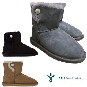 エミュ オーストラリア オレ EMU Australia Ore ムートンブーツ ショート丈 レディース|mariner