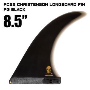 ロングボードフィン サーフボード フィン FCS2 CHRISTENSON LONGBOARD FIN PG BLACK 8.5|mariner