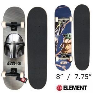 ELEMENT エレメント×スターウォーズ コラボ コンプリートスケートボード 8インチ 7.75インチ STAR WARS mariner