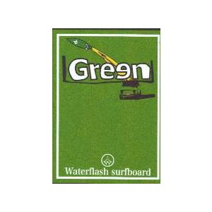 Green Water Flash /サーフィンDVD / dvd4000