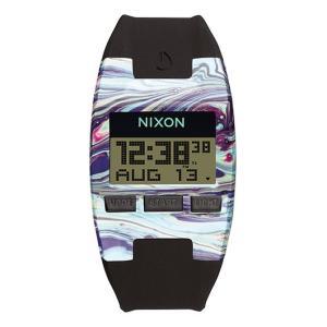NIXON ニクソン腕時計 THE COMP S MARBLED MULTI  BLACK/メンズウォッチ レディースウォッチ|mariner