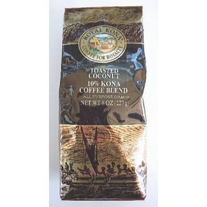 ROYAL KONA Coffee ロイヤルコナコーヒー Toasted Coconut トーステッドココナッツ/ハワイアンコーヒー フレーバーコーヒー