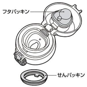 サーモス ケータイマグJNLシリーズ交換用パッキンセット(フタパッキン・せんパッキン各1個) B-0...