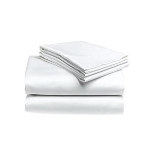 フラットシーツ 綿100% セミダブルサイズホワイト