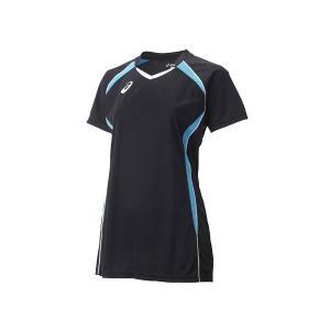 アシックス asics レディース W'SゲームシャツHS バレーボール ウエア 半袖シャツ|mario