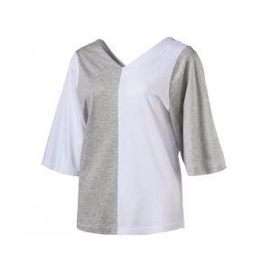 プーマ PUMA レディース EVO Vネック Tシャツ 半...