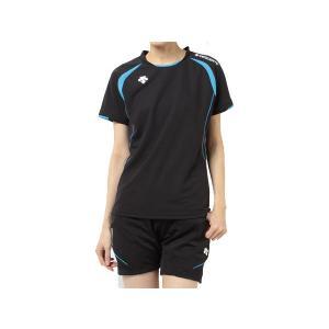 デサント DESCENTE レディース 半袖ライトゲームシャツ バレーボール ウェア 半袖 シャツ|mario