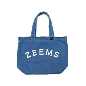 ジームス Zeems デニムトートバッグ 野球 バッグ デニム ショルダー バック|mario