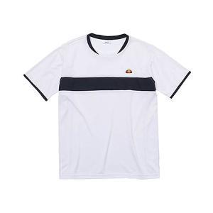 エレッセ ellesse メンズ プラクティスシャツ テニス トレーニング ウェア 半袖|mario