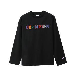チャンピオン Champion レディース ロングスリーブTシャツ カジュアル 長袖 シャツ|mario