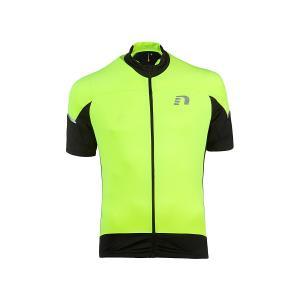 ニューライン newline メンズ バイク ストレッチ ジャージー BIKE STRETCH JERSEY 自転車 スポーツ トレーニング ウェア|mario