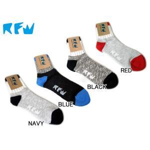 アールエフダブリュー RFW メンズ SOCKS 靴下 1足組 ソックス チュプコラボ
