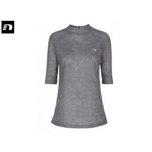 ニューライン newline レディース アイモーション ヘザーTシャツ ランニング ウェア 7分袖 アウトレット セール【191013】|mario