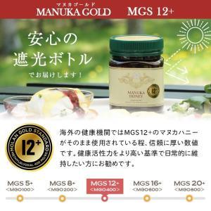 マヌカハニー MGS 12+ MG 400+ 250g マリリニュージーランド 無添加 非加熱  マヌカはちみつ|maririnz-manukahoney|05